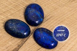 Kaboszony Lapis lazuli 140KB 18x25mm 1sztuka