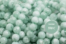 Kamienie A Angelit zielony 7500kp 8mm 1szt.
