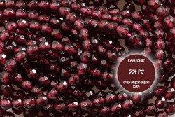 Kamienie Granat 4646kp 2mm 1sznur