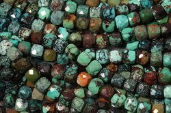 Kamienie Turkus 7728kp 4.5-5mm 1sznur
