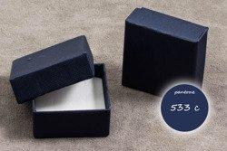 Pudełko jubilerskie 049okm 45x45mm 48szt.