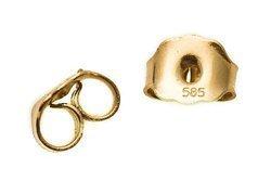 Złoto 14KT Zatyczka 001au 5mm 1szt.