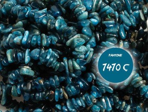 Szlachetny Apatyt 5468kp sieczka 3-5mm 1sznur