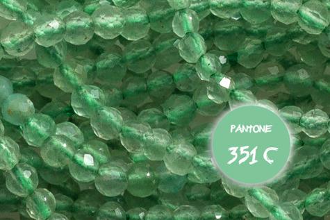 Kamienie Awenturyn 7110kp 2mm 1sznur