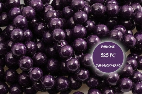 Kamienie Jadeit 5285kp 8mm 1sznur