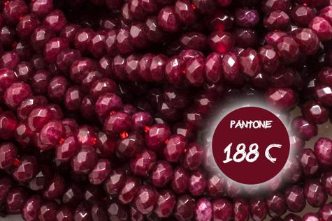 Kamienie Jadeit 7155kp 3x4mm 1sznur