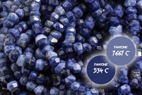 Kamienie Sodalit 7208kp 6-8mm 1sztuka