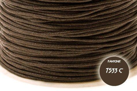 Sznurek  bawełniany#124 1mm 90m 1rolka