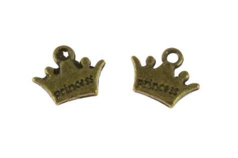 Zawieszka korona 619man 10mm 5sztuk